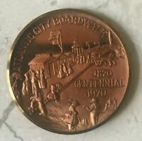 Atlantic City Boardwalk Centennial Bronze Medal