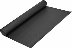 Yoga Direct Oversized Yoga Mat Black 1/4 Inch