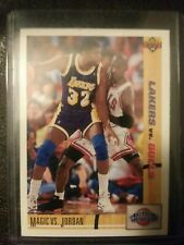 Magic Johnson vs. Michael Jordan 91-92 Upper Deck Classic Confrontation Card #34