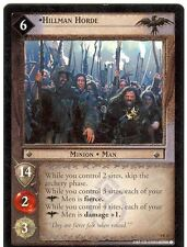 Lord Of The Rings CCG Card TTT 4.R22 Hillman Horde