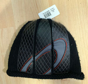 Oakley Industrial Leather Beanie Hat - Black 91146 - 809984843890 Rare