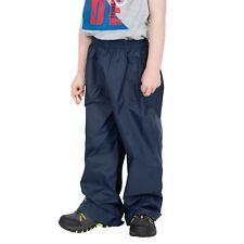 Trespass Kids Waterproof Trousers Packaway Breathable Qikpac