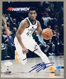 Donovan Mitchell signed Utah Jazz auto 8x10 autograihed photo JSA & MITCHELL COA