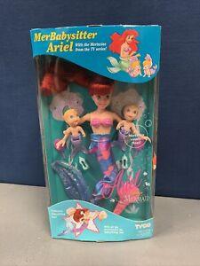 Tyco Disney Little Mermaid Merbabysitter Ariel w/Mertwins MIB NRFB 1992