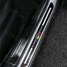 JDM Mugen Carbon Fiber Car Door Welcome Plate Sill Scuff Cover Decal Sticker X2