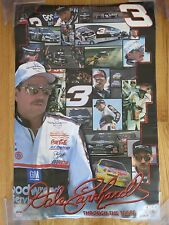 2001 Dale Earnhardt Through the Years Starline Poster