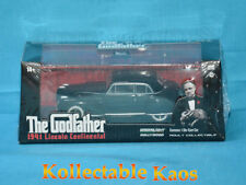 1941 Lincoln CONTINENTAL Black The Godfather Movie 1972 1 43 Greenlight 86507