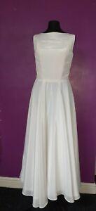 Ivory 50s Style Wedding Dress Size 10