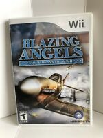 Blazing Angels: Squadrons of WWII FREE SHIPPING (Nintendo Wii, 2007)