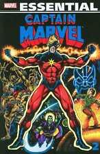 Marvel Essential Captain Marvel Volume 2 TPB new unread