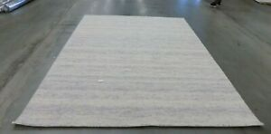 SILVER 8' X 10' Back Stain Rug, Reduced Price 1172584637 HIM120D-8