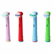 For Oral B EB10-4 Stage Power Kids Health Clean Replacement Toothbrush Head 4pcs