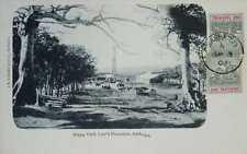 O) 1903 BARBADOS, RURAL LANDSCAPE -FIELD, VICTORIA JUBILEE- BADGE OF COLONY SCT