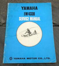 Original 1971 Yamaha EW433B Snowmobile Service Manual