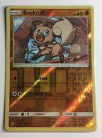 Pokemon TCG Card - Rockruff 73/145 - Reverse Holo - NM