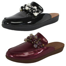Fitflop Womens Serene Deco Beaded Mule Shoes