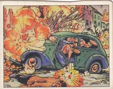 "Gun Shells Daring Reporters in Spain-1938 Gum Inc ""horrors of war"" Conflict card"
