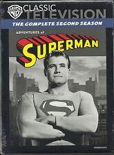 Adventures Of Superman:Complete Season 2. 26 Episodes. Classic 50's TV. New!