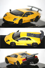 Hotwheels Elite Lamborghini Murcielago LP 670-4 SV 2006 Jaune 1/43 T6934