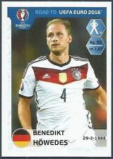 PANINI ROAD TO UEFA EURO 2016- #052-GERMANY-BENEDIKT HOWEDES