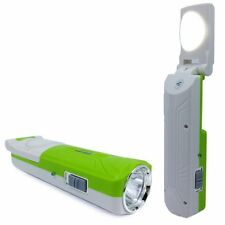 Premium Care Led Solar rechargeable Led torch 5W + 5 Laser