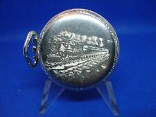 Back Pocket Watch Case Part! cs2 Antique 49mm Star Co. Emperor Train