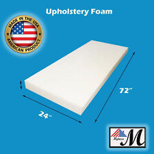 5 X 24 X72 High Density Foam Upholstery Cushion Free Shipping Made
