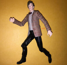 DOCTOR WHO figure MATT SMITH 11th DR toy RED STRIPED JACKET version (tardis set)