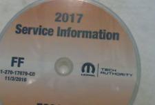 2017 Fiat 500L 500 L Service Shop Repair Workshop Information Manual CD NEW