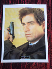 """TIMOTHY DALTON - FILM STAR - 1 PAGE PICTURE -"""" CLIPPING / CUTTING"""""""