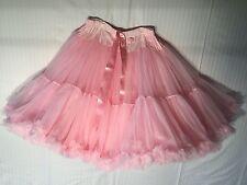 KAIYA EVE baby Pink, GIRLS Petticoat Ruffle, Tulle, Skirt, ~ Small
