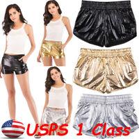 Copper Metallic Low Rise Booty Shorts//Pole Dancer//Stripper//Made in usa//m-l