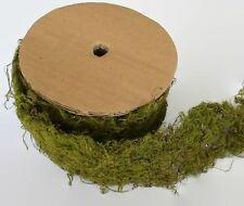 Moss Ribbon Mat Artificial Fake Greenery Terrarium Craft Garden Wedding Supplies