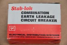 FEDERAL ELECTRIC GFI1530  STAB LOCK SINGLE POLE 15A 240VAC  #S662