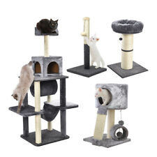 AllPetSolutions Cat Scratching Post Kitten Climbing Tree Small Large Scratcher