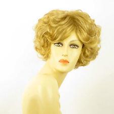 Perruque femme courte blond doré FRANCINE 24B