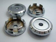 4x No LOGO Wheel Center cap hubs Tuning Car Black Finished 56mm x 46.5mm #135