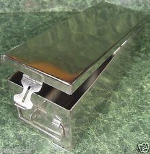"12"" Stainless Steel STORAGE BOX New tool Craft cash"