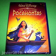 POCAHONTAS CLASICO DISNEY NUMERO 33 - DVD NUEVO Y PRECINTADO
