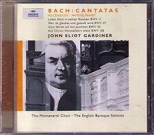 GARDINER BACH Cantata BWV 11 37 43 128 Auf Christi Himmelfahrt allein CD Argenta
