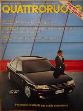 Quattroruote 415 1990 -  Test Alfa Romeo SZ : effetti Speciali   [Q43]