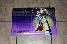 "Transformers G1 Megatron 24"" box art poster art print decepticons 80's"