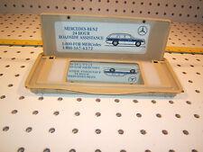 Mercedes W202,210 Lighted sun visor CREAM mirror 1 Cover/ Sticker,T#2,2108100517