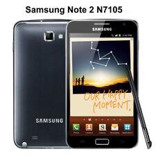 Samsung Galaxy Note 2 II GT-N7105 -4G  LTE - Black (Unlocked) Smartphone mobile