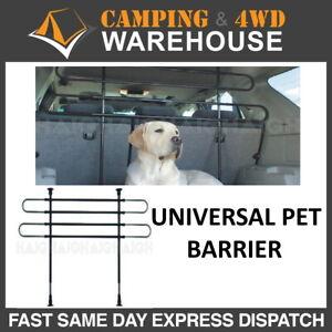 Universal Car Rear Pet Dog Barrier Guard 2 Bar Adjustable Wagon SUV Hatch 4WD