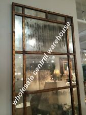 New Industrial Restoration Windowpane Leaning Dressing Mirror Floor Wall XL 79""