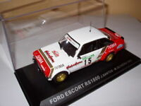 RPT7M voiture 1/43 IXO Rallye PORTUGAL : FORD ESCORT RS1800 #15 Santos 1983