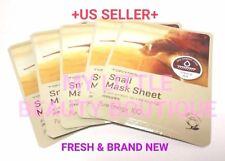TonyMoly SNAIL KOREAN MASK SHEET Pure Energy 100 Skin Damage Care 5 sheets NEW