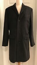 J.CREW LUDLOW TOPCOAT IN ITALIAN WOOL-CASHMERE SIZE 40S HEATHER CHARCOAL F5543