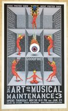 2006 Art of Musical Maintenance 3 Art Show - Silkscreen Poster by EMEK